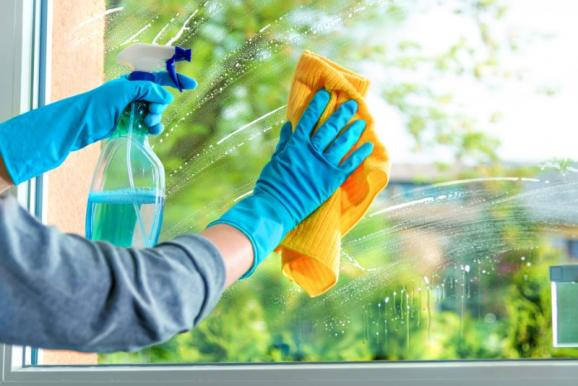 nettoyage surface vitrée